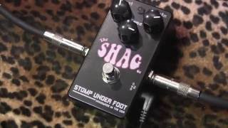 Stomp Under Foot THE SHAG fuzz demo ('68 Sola Sound Tonebender Fuzz Salute!)