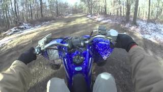 7. Friends' POV Wheelies // 2011 Yamaha Raptor 250 GOPRO HD