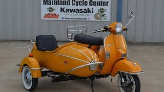 9. $5,999: For Sale Pre Owned 2013 Stella Scooter with Sidecar Dijon Yellow