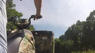3. Polaris Sportsman 570 Camo ITP Mud lite tires
