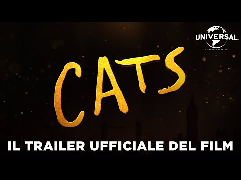 Preview Trailer Cats, primo trailer italiano