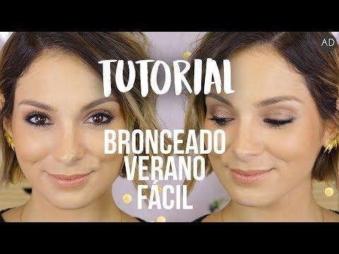 Maquillaje FÁCIL de verano con AMORSITOS (ad)