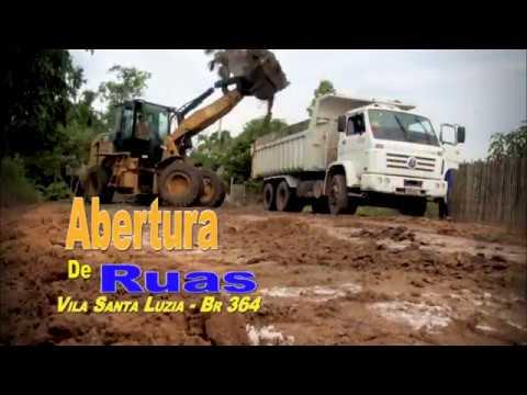 Abertura de Ruas - Vila Santa Luzia