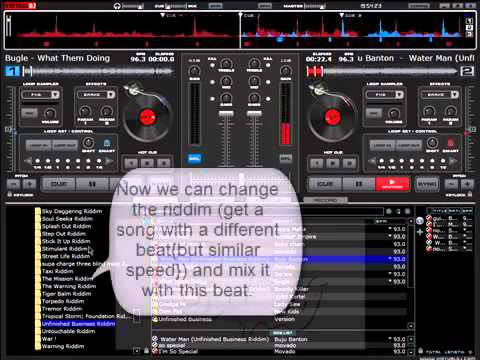 Virtual DJ Pro – How to Mix Songs
