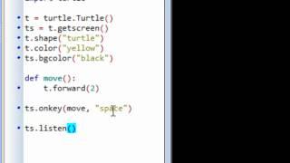 Python Programming: Event Driven Programming