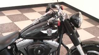 8. Fat Boy Lo 2010 Harley-Davidson FLSTFB (Vivid Black)