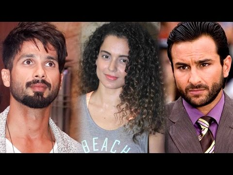 Inside Details Of Shahid Kapoor And Saif Ali Khan�