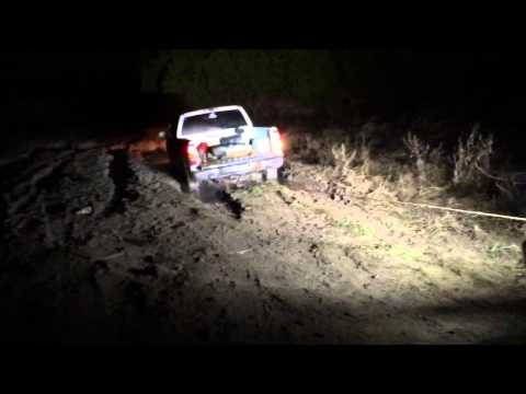 Chevy 1500 Winch Out-Helligans Offroad.