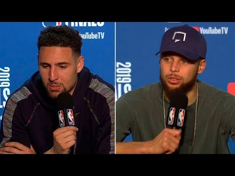 Stephen Curry & Klay Thompson Postgame Interview - Game 4  Raptors vs Warriors 2019 NBA Finals