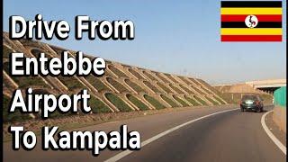 Drive from Entebbe Airport to Kampala Uganda 🇺🇬  Feb 2019 | It's Iveoma