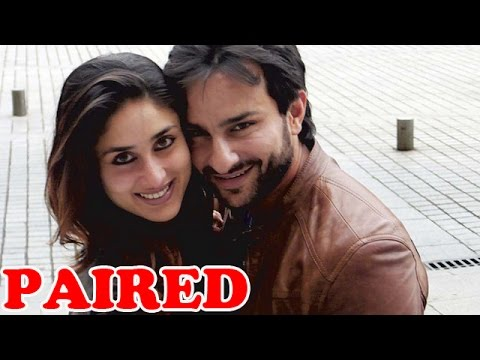 Saif Ali Khan and Kareena Kapoor Khan paired together for a Movie