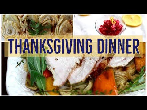 Thanksgiving Dinner || Cara's Cucina || Cara Di Falco