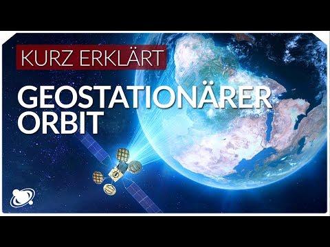 Geostationärer Orbit   Einfach Erklärt