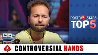 Video Top 5 Most Controversial Poker Hands | PokerStars MP3, 3GP, MP4, WEBM, AVI, FLV Maret 2019