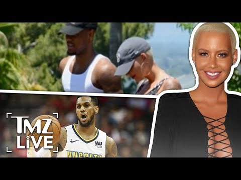 Amber Rose Dating An NBA Player | TMZ Live