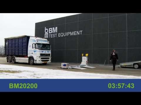 BM20200 – mobil bremsetester