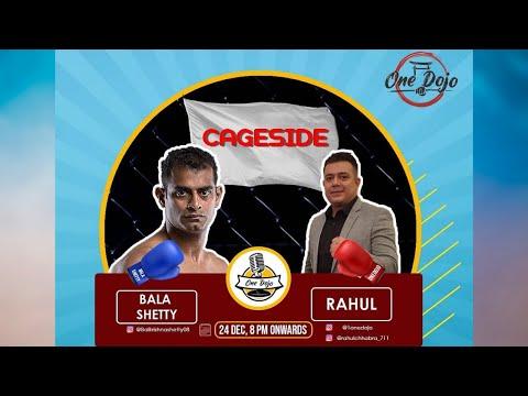 Cageside Ep 1- Balkrishna Shetty/Most Legit Muay Thai Promoter in India