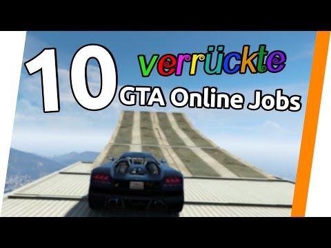 10 verrückte GTA Online Jobs