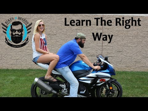 How to Ride with a Girl on your Motorcycle