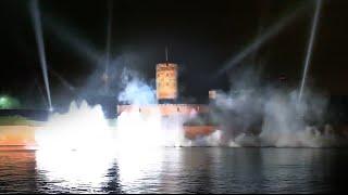 Multimedialne widowisko na Twierdzy Wisłoujście - Gdańsk 2016