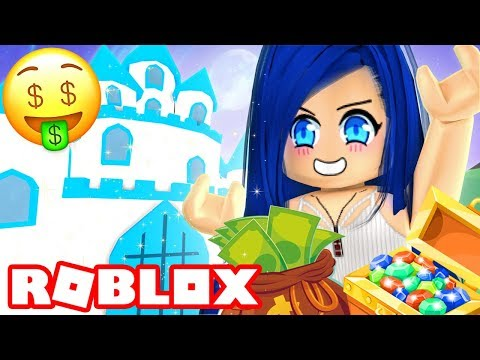 I BUY A GIANT CASTLE IN ROBLOX MEEP CITY!