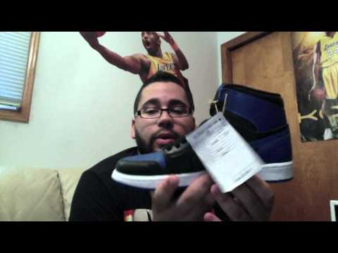 0 Air Jordan 1 Black/Royal   Video Review