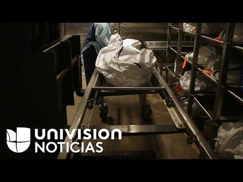 La morgue en el estado de Guerrero, México, está saturada por la violencia desbordada