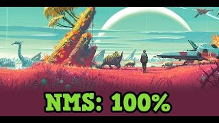 No Mans Sky - 100% Completing a Planet Exploration