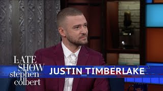 Video Justin Timberlake And Stephen Harmonize The National Anthem download in MP3, 3GP, MP4, WEBM, AVI, FLV January 2017