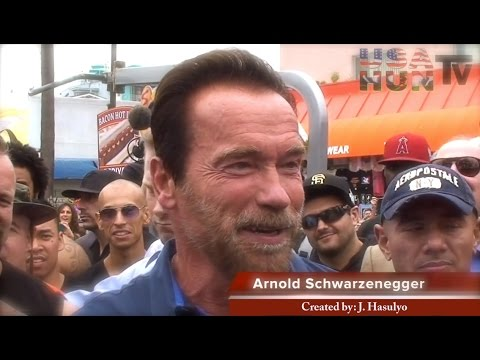 Arnold - Arnold Schwarzenegger Venice Muscle Beach - Arnold is exploding on the marketing with his new product with his partnership with ... ARNOLD IS BACK.