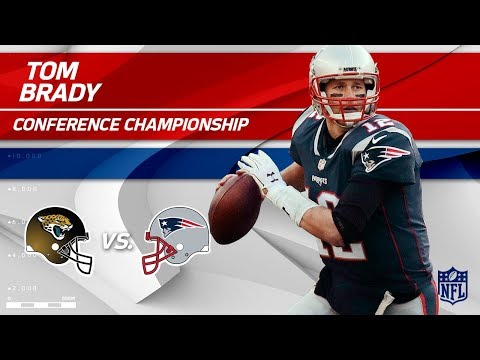 Video: Tom Brady's Double TD Day vs. Jags! | Jaguars vs. Patriots | AFC Championship Player HLs