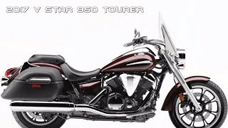8. FIRST LOOK : 2017 Yamaha V Star 950 Tourer - Tour In Style, Performance & Value