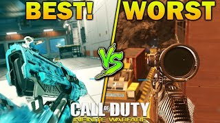 Call of Duty: Infinite Warfare best gun and worst gun breakdown and analysis. Find out what gun you should and should not be ...