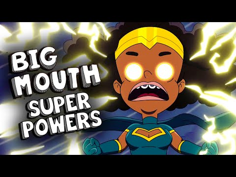 EVERY SUPER POWER in Big Mouth Season 3 (SUPER MOUTH)