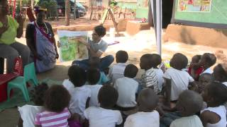 Roger Federer visits pre-schools, supported by the Roger Federer Foundation, in the Limpopo Province of South Africa. Video...