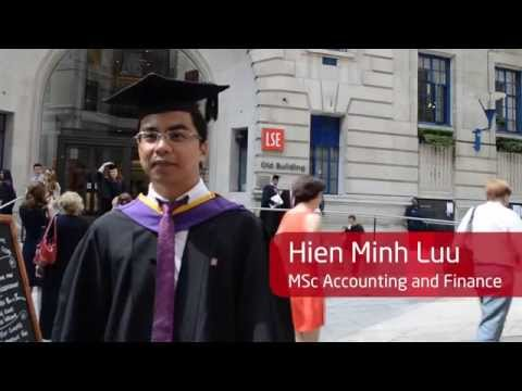 INTO Manchester Alumnus Graduation at LSE - Hien Minh Luu