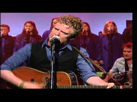 Glen Hansard w/ The Brooklyn Youth Chorus - This Gift - Letterman (видео)