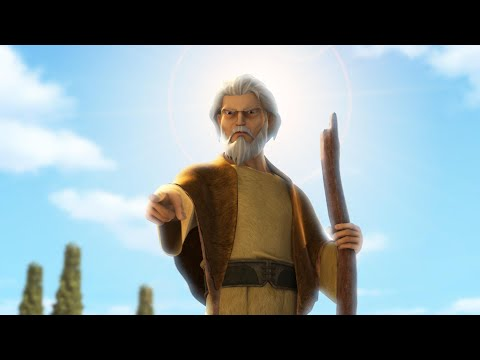 Superbook - Elijah and the Prophets of Baal - Season 2 Episode 13 Full Episode (Official HD Version)