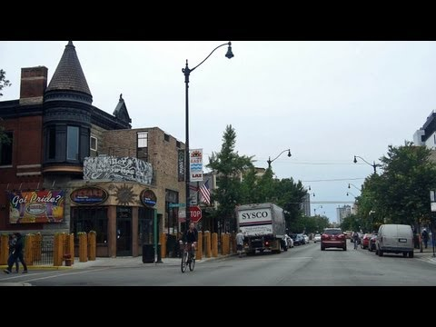 Lincoln Park & Lakeview East, a drive along Clark & Broadway