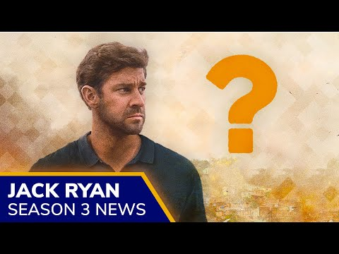 JACK RYAN Season 3 confirmed by Amazon 🎉 John Krasinksi returning, Wendell Pierce is not