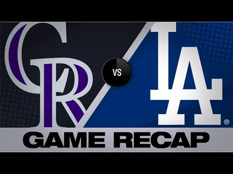Video: McMahon, Fuentes homer to assist in 4-2 win | Rockies-Dodgers Game Highlights 9/21/19