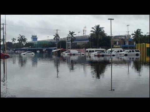 Graves afectaciones por lluvias en el DF