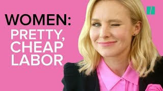 Kristen Bell Mocks the Gender Wage Gap in This Parody Video