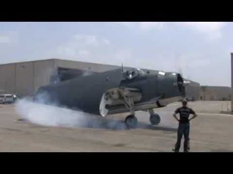 Restored WWII Grumman TBM Torpedo Bomber Brand-New EngineTest and Flight: Big, Bad and LOUD !