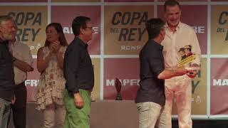 S.M. el Rey entrega los trofeos de la regata de vela 38ª Copa del Rey Mapfre