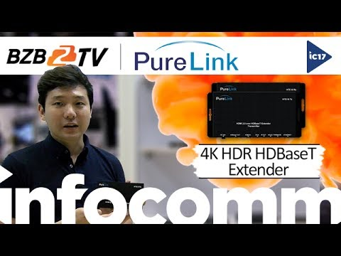 HTE III: 4K HDR over HDBaseT Extension System w/ Ethernet, Control, and Bi-Directional PoE