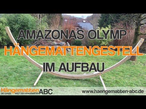 Amazonas Olymp Hängemattengestell Zusammenbau