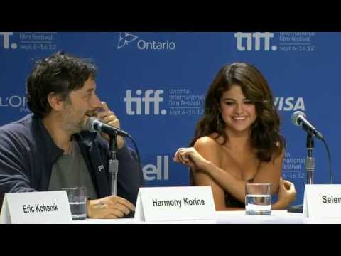 TIFF 2012: Spring Breakers Press Conference Highlights
