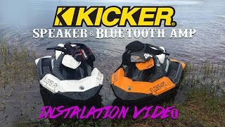 5. How To Install  Kicker Speakers On  A Sea-Doo Spark