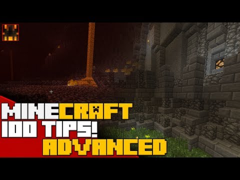 Minecraft – 100 Advanced Minecraft Tips and Tricks – Part 1 (25/100)